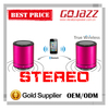 Stereo outdoor portable mini bluetooth speaker