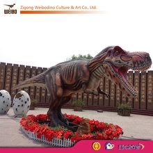 Foam Carving Simulation Dinosaur