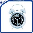 Twin bell table quartz alarm clock