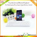Universal bluetooth wireless keyboard para Apple ipad e o Windows e Android e Samsung Tablet e telefone