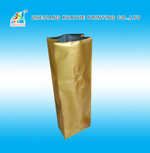 High quality golden foil coffee bag,packaging coffee bags,foil coffee tea bag