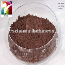 ceramic pigments Dark Brown used in glaze and body