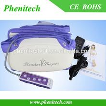 Purple PU material electric slimming massage belt