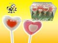 Interesante y buen gusto! Dulce corazón del caramelo del lollipop