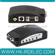 high quality AV+S-Video+VGA to VGA Converter