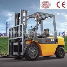 2.5 Ton Forklift Truck With Japanese Engine Diesel Forklift Truck
