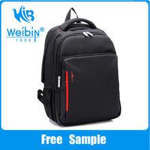 WeiBin 2014 Fashion New Design Wholesale Custom Waterproof Bag Sports Backpack Laptop School Backpack