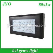 Advanced plant light 80*3W led grow light for hydroponic system grow tent mini greenhouse grow box full spectrum led grow lights