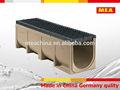 Mea polimer beton drenaj kanalı, açmada drenaj kanal