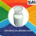 tio2 dióxido de titanio para los gránulos de plástico