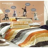 New Fashion kids room decor cartoon dog die cut shape text vinyl kids wall stickers home decor