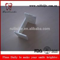 filo interdentale,Zahnseide ,fil dentaire,fio dental ,hilo de20M FDA Approved Card ShapeDental Floss With Mirror (waxed & mint)