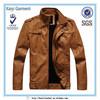 popular plus size clothing men leather jacket bandung