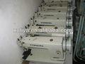 Típica 0302 andando pé utilizadas máquinas de costura industriais para couro