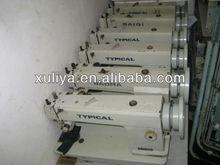típica 0302 pé andando usado industrial máquinas de costura para couro