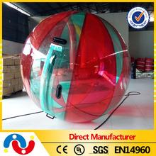 CE certificate 2m diameter PVC water walking ball, water ball