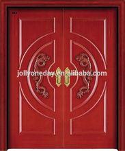 คู่ที่ทันสมัยmohoganyรายการประตูไม้ที่เป็นของแข็ง