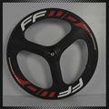 Nuevo clincher ruedas 88mm 3k completo más rápido de carbono bicicleta de carretera bicicleta de 700c rápido de bicicleta de carretera de las ruedas llantas + habló de tres + hub