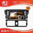 High quality new designing PLC car radio tv dvd for Toyota VIOS 20
