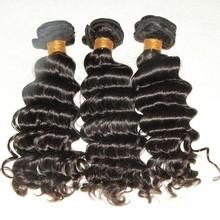 Unprocessed Deep Wave Hair Extensions Wholesale Virgin Brazilian Hair