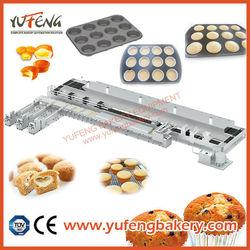 YUFENG Full Automatic Bear Cake, Muffin, Cupcake, Cake Production Line