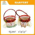 Festival de la cosecha decoración, decorativo cosecha espantapájaros cestas