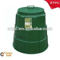130L plastic garden compost bin