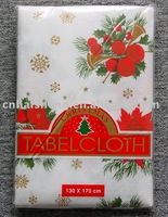 Christmas PE Tablecloth