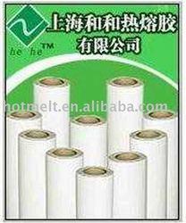 PES hot melt adhesive for fabrics lamination