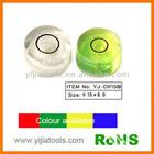 plastic round spirit level vial YJ-CR1508
