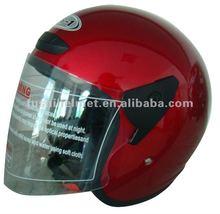 Open face motorcycle helmet 801