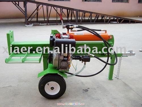Holzspalter Mit Motor Gas Motor Holzspalter