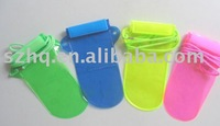 Mobile phone/MP4/MP3 waterproof pouch
