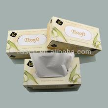 Ultra soft box facial tissue