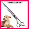 Sales Champion High quality grooming tool Titanium Pet scissors
