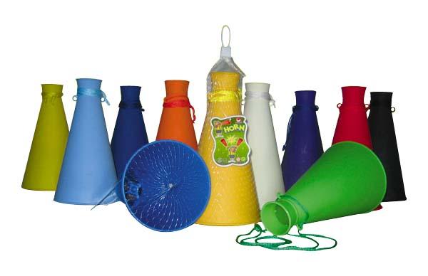 plastik oyuncak megafon
