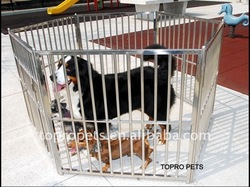 stainless steel dog pens/puppy pens,