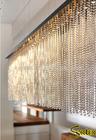fashion decorative ball chain screen curtain for room divider