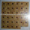 Bm002-h doğal bambu mozaik çini, çin bambu ürünler