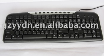 Factory-Made Colorful Hot Sale Crazy Price Multimedia Computer Keyboard K-402
