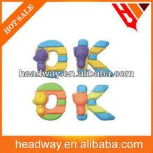 promotion animal 3d OK shape Eraser