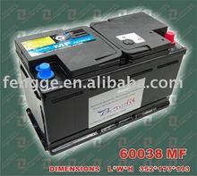 12V100AH евро аккумулятор