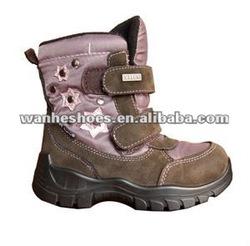 hi-cut fashion snow fur boots