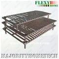 marco simple o doble de la cama del metal