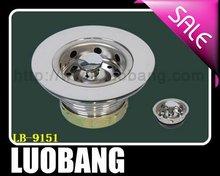 Brazil Standards Stainless steel Sink Drain Basket Strainer LB-9151