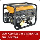 2kw home use 2500 170F Chongqing made natural gas generator manufacturer