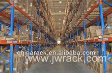 Heavy duty pallet rack for industrial storage