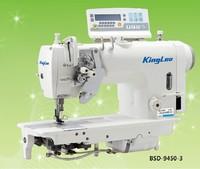 BSD-9000 Computerized high Speed double Needle Lockstitch Sewing Machine With Servo Motor