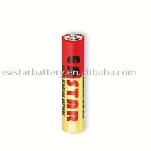 Alkaline battery LR03 AAA size
