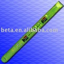 Reflective LED band,reflective slap wrap under CE EN 13356
